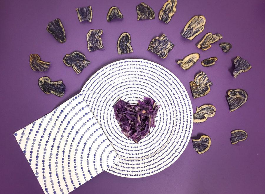 violet chou et chips