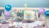Table d'anniversaire sirène