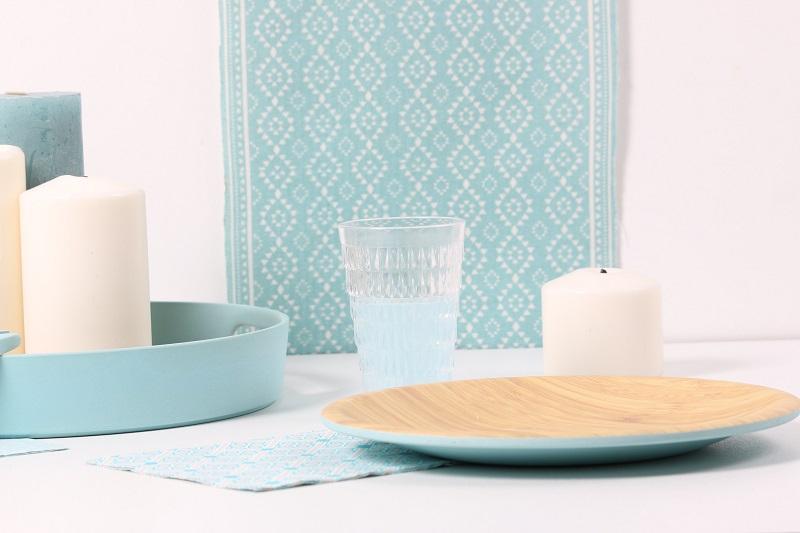 De la vaisselle en bambou pour une table naturelle