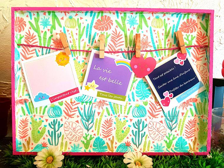 DIY : Réalisez un cadre photos pour la fête des mères !