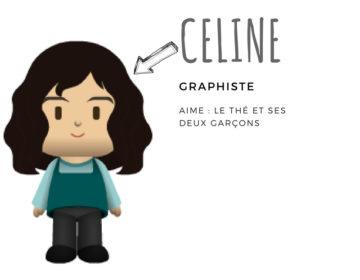 Céline graphiste mesa bella