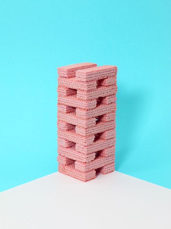 pyramide nourriture rose