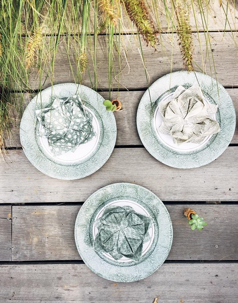 Nouvelle collection de vaisselle jetable disponible chez Alinéa