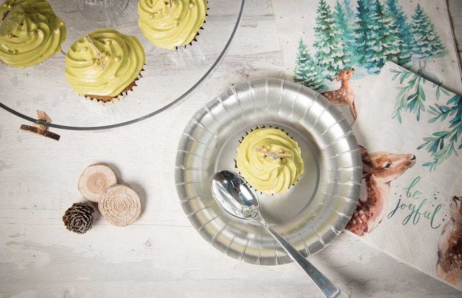 recette cupcake pistache
