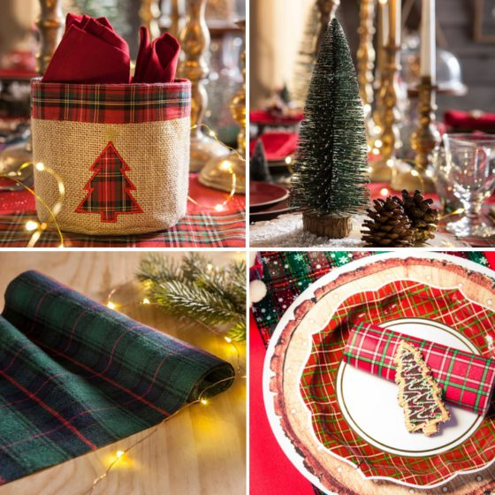 collection scottish tartan
