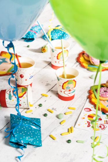 confettis et ballons de baudruche