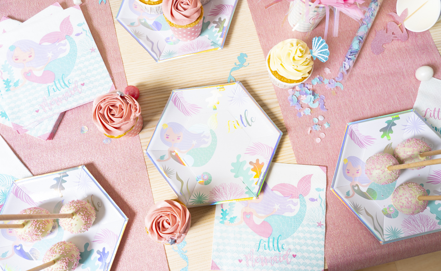 ANNIVERSAIRE SIRENE : COLLECTION MERMAID PARTY