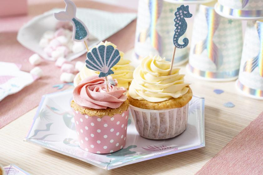 pic decdoratif sirene pour cupcake