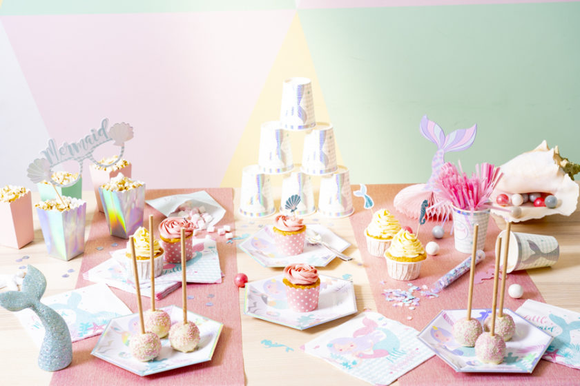 sweet table mermaid birthday