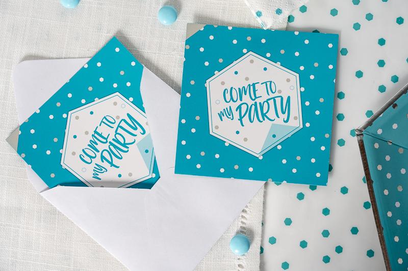 Invitation carton anniversaire