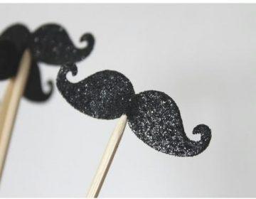 Photobooth accessoire moustache