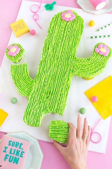 gateau cactus