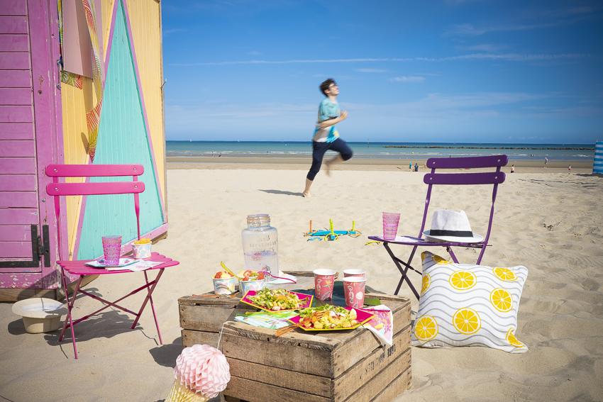 pique nique a la plage