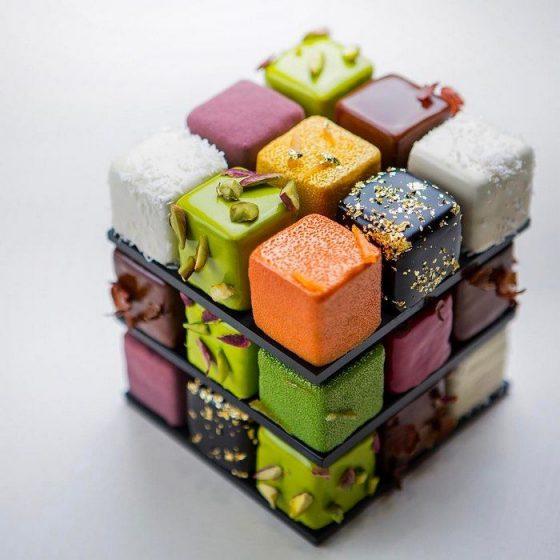 Le Rubik's cake