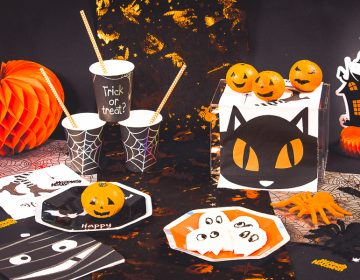 deco de table Halloween
