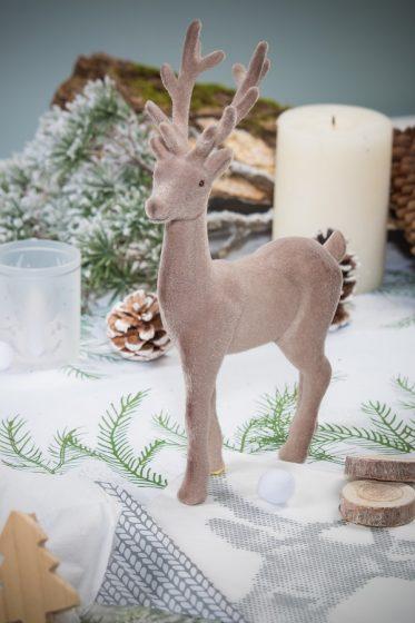 renne figurine deco de table