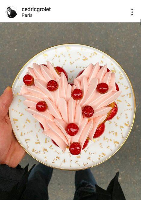 pâtisserie coeur de Cédric Grolet
