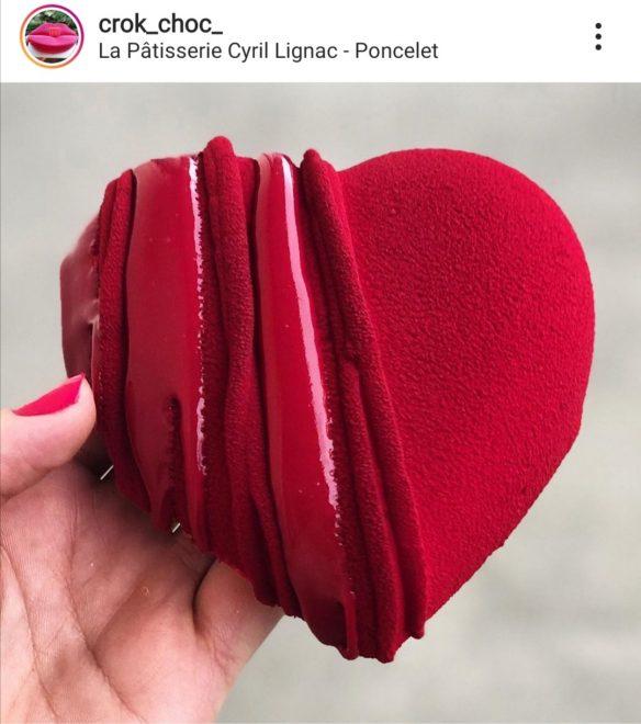 Coeur Guimauve Saint Valentin Cyril Lignac