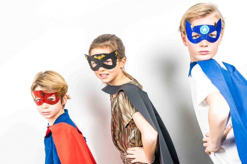 masque enfant de super héros