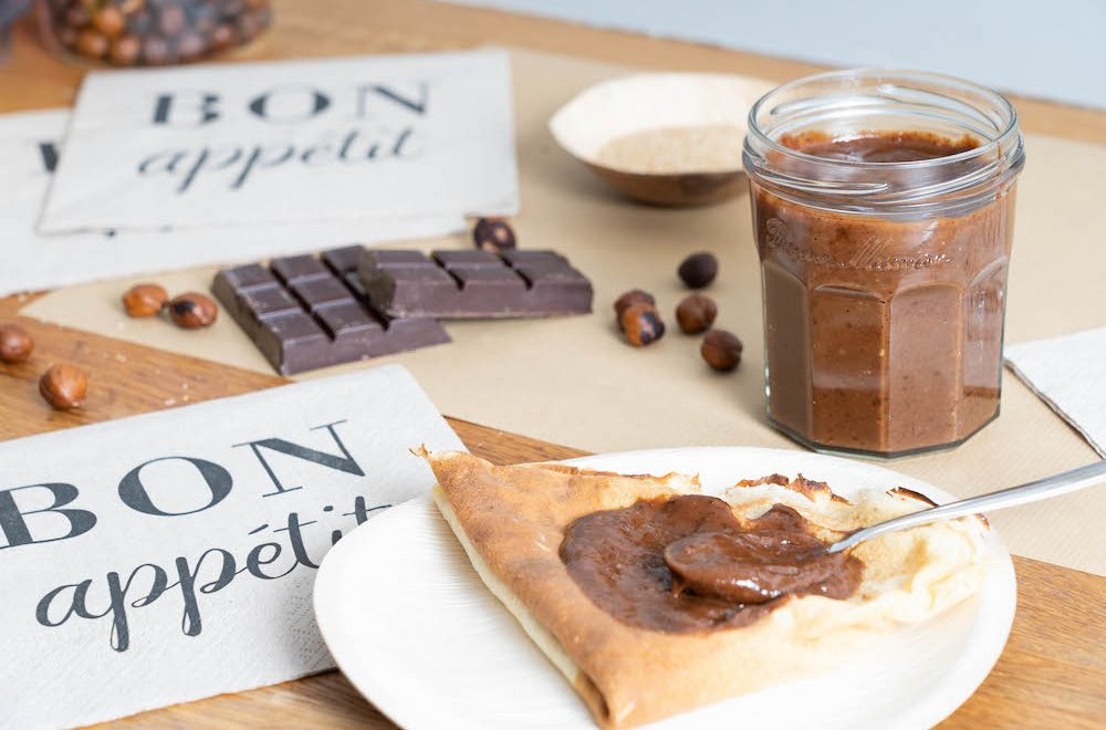 recette pâte à tartiner Chocolat noisette