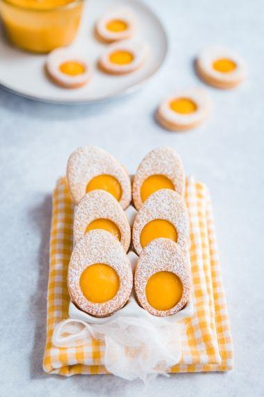 sablés à la mangue pour pâques
