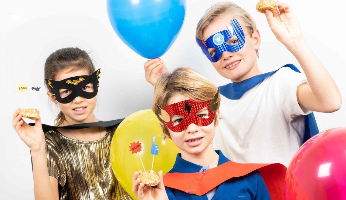 masque anniversaire super héros